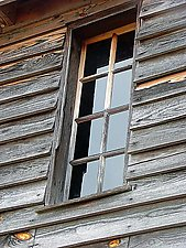 Mill Window by Joni Purk (Color Photograph)