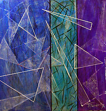 What's the Point! by Jerry Hardesty (Mixed-Media Wall Art)