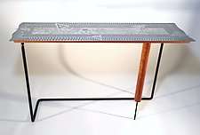 Captain's Table by Evy Rogers and Joe  Jacob (Metal Console Table)
