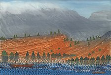 Misty Mountains by Paul Bennett (Giclee Print)