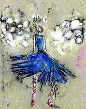 Snow Queen Fairy No. 1 by Roberta Ann Busard (Giclee Print)