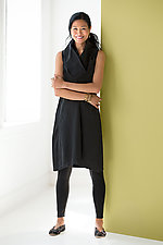 Cosmos Cowl Neck Dress by Karen Klein (Woven Dress)