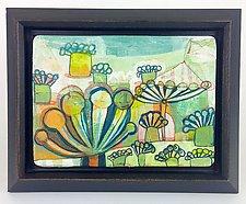 Flower Market by Barbara Gilhooly (Acrylic Painting)