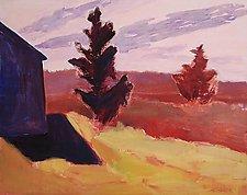 Sunset Hill by Leonard Moskowitz (Acrylic Painting)