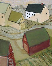 Barnyard by Robert Ferrucci (Giclee Print)