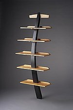 Recurve by Brian Hubel (Wood Shelf)