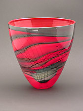 Kimono Series Bowl by Steven Main (Art Glass Bowl)