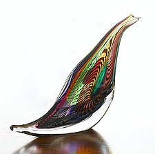 Pheasant by Mike Wallace (Art Glass Sculpture)