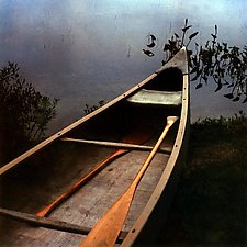 Canoe by Julie Betts Testwuide (Giclee Print)