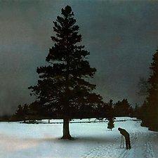 Nordic Skier by Julie Betts Testwuide (Giclee Print)
