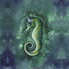 Sea Horse by Rachel Tribble (Giclee Print)