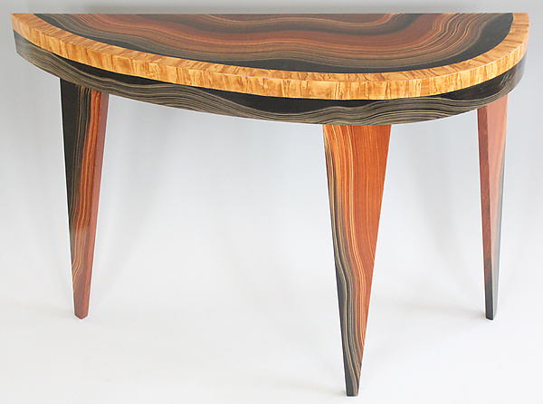 Yucatan French Curve Console