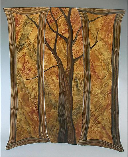 Tree Folding Screen