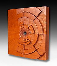 From Nothing by Sean Gillespie (Wood Wall Sculpture)