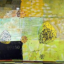 Geometric Bounce by Barbara Gilhooly (Acrylic Painting)