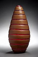 Mocca Ring by Michael Ulschak (Art Glass Vase)