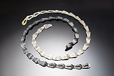 Cascade Link Necklace by Suzanne Schwartz (Gold & Silver Necklace)