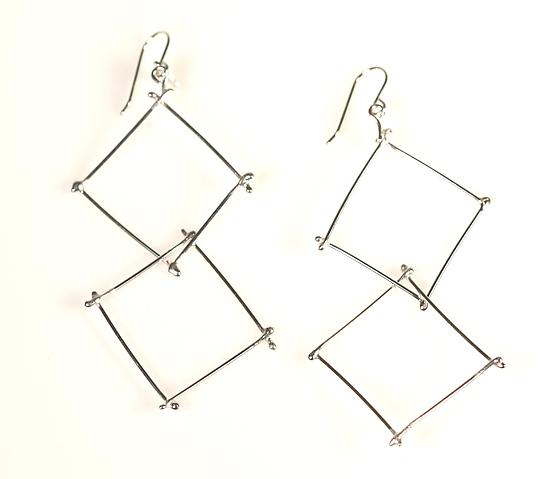 Double Twig Earrings