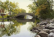 Bridges of Madison 1 by Steven Kozar (Giclee Print)