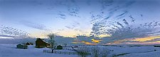 January Sunrise by Steven Kozar (Giclee Print)