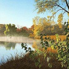 Yahara Sunrise by Steven Kozar (Giclee Print)