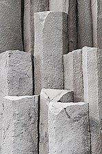 Reynisfjara Columnar Basalt 1057 by Adrienne Adam (Color Photograph)