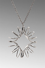 Diamond Necklace by Ashley Vick (Silver Necklaces)