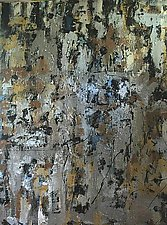 Glittering Surfaces Shiney Facades by Laurie Vaughn (Acrylic Painting)
