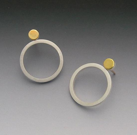 Dot & Circle Earrings