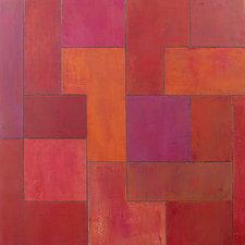 Red Velvet Heaven by Stephen Cimini (Oil Painting)
