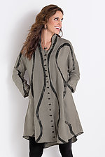 Flood Jacket by Cynthia Ashby  (Linen Jacket)