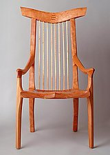 Prettyboy Chair by Richard Laufer (Wood Chair)