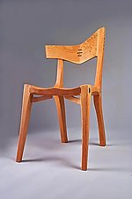 Westwind Side Chair by Richard Laufer (Wood Chair)