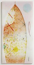 True North by Martha Pfanschmidt (Art Glass Wall Sculpture)