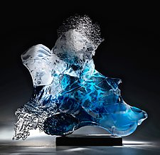 Ricochet by Caleb Nichols (Art Glass Sculpture)