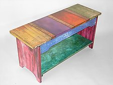 Bench by Wendy Grossman (Wood Bench)