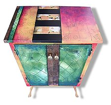 Studio 78 Small Cabinet by Wendy Grossman (Wood Cabinet)