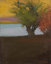 Lake View by David Skinner (Acrylic Painting)