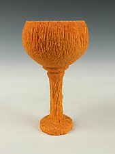 Palm Wood Goblet by Dewey Garrett (Wood Goblet)