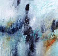Misty Blue by Filomena Booth (Acrylic Painting)
