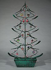 Holiday Tree by Charles McBride White (Metal Fountain)