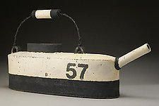 Long Water Can No. 57 by Nathan  Falter (Ceramic Watering Can)