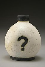 Mystery Bottle by Nathan  Falter (Ceramic Vase)