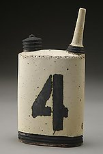 Oil Can No. 4 by Nathan  Falter (Ceramic Bottle)