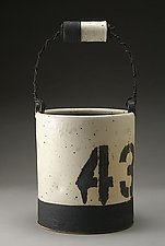 Ice Bucket No. 43 by Nathan  Falter (Ceramic Vessel)