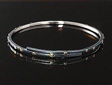 City Lights Overlapping Bracelet by Dean Turner (Gold & Silver Bracelet)