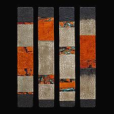 Canyon WallsTalking Sticks by Kara Young (Fiber Wall Art)