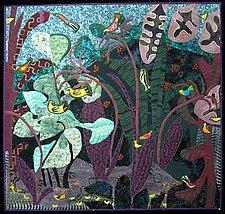 Wonder of Birds I by Pamela Allen (Fiber Wall Art)