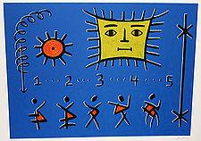 The Return of Five by Ken Kenan (Serigraph Print)