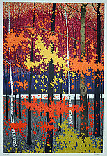 Autumn Tapestry I by Rolland Golden (Lithograph Print)
